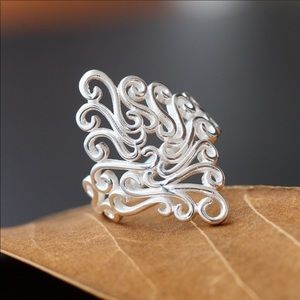 Sterling Silver Arabesquitic Ring